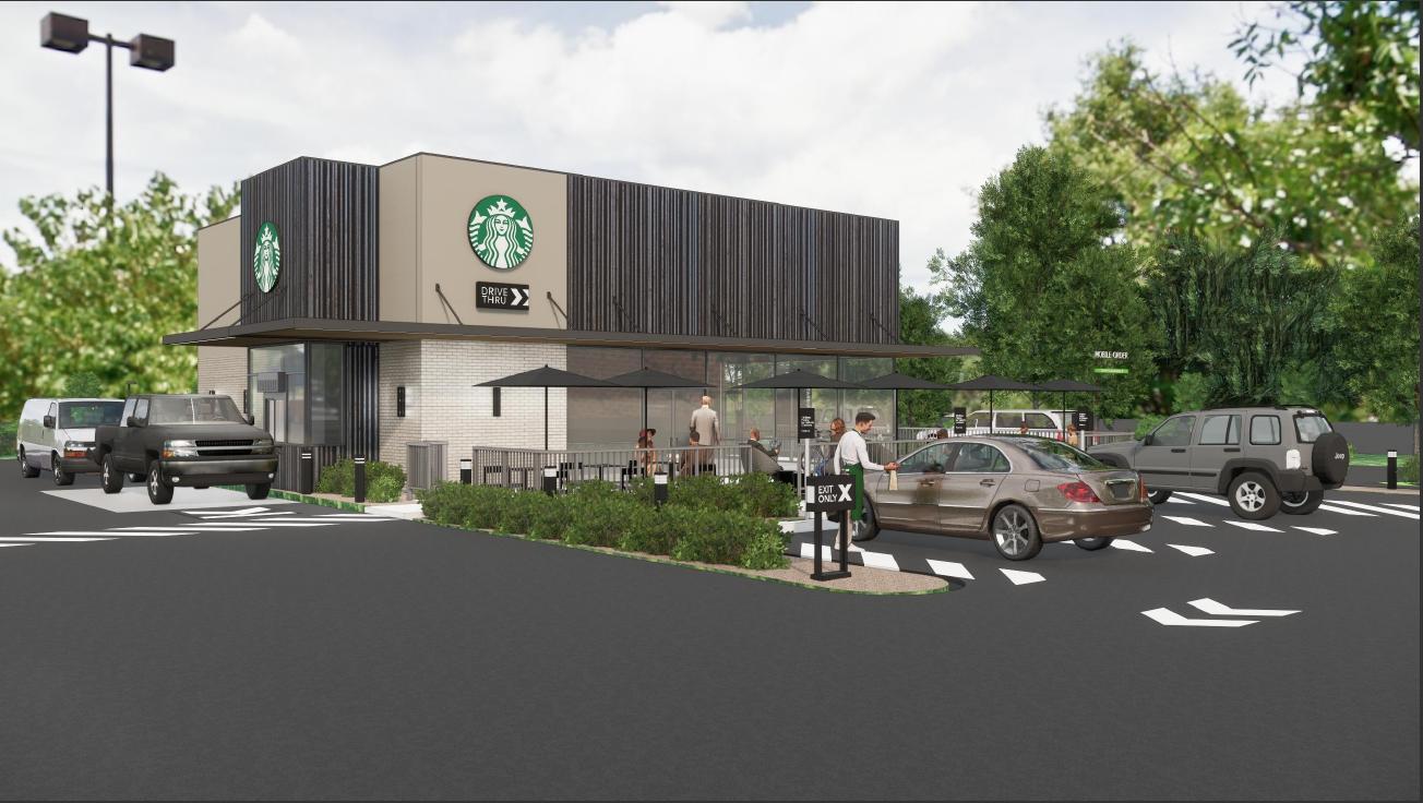Starbucks Render